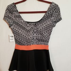 Charlotte Russe small top.